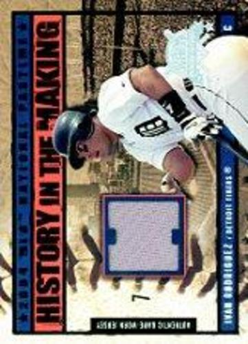 Photo of 2004 National Pastime History in the Making Jersey #IR Ivan Rodriguez SP/150