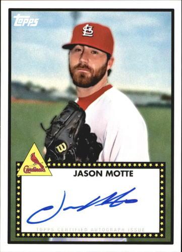 Photo of 2011 Topps Lineage 1952 Autographs #52AJM Jason Motte