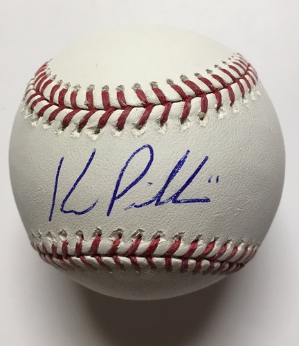 Photo of Kevin Pillar Autographed Baseball