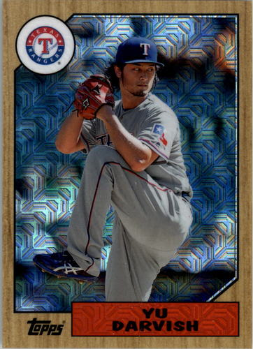 Photo of 2017 Topps '87 Topps Silver Pack Chrome #87YD Yu Darvish