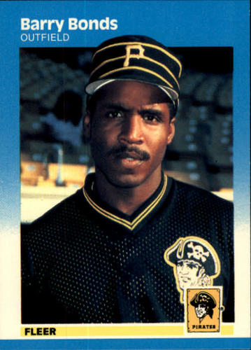 Photo of 1987 Fleer #604 Barry Bonds RC