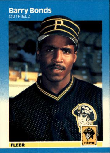 Photo of 1987 Fleer #604 Barry Bonds RC