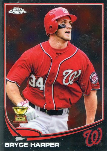 Photo of 2017 Topps Chrome Update All Rookie Cup #TARC1 Bryce Harper