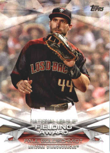 Photo of 2018 Topps MLB Awards #MLBA17 Paul Goldschmidt