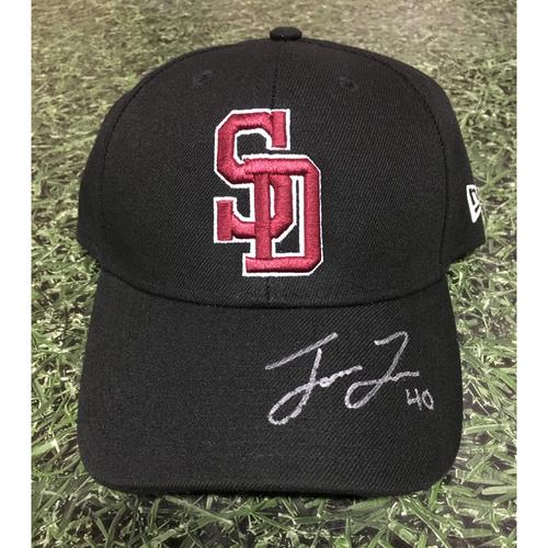 Photo of Jason Lane Autographed Stoneman Douglas Eagles Cap - Not MLB Authenticated