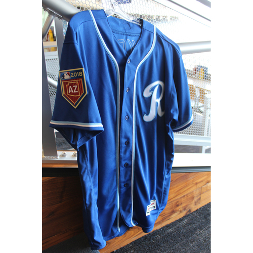Photo of Team-Issued Spring Training Jersey: Bo Jackson (Size 52)