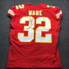 STS - Chiefs Spencer Ware Signed Game Used Jersey Game Date 11.11.18