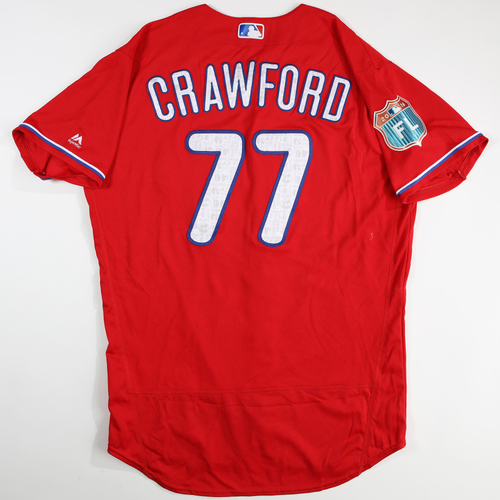 Photo of 2016  Spring Training -  Game-Used Jersey - J.P. Crawford (Phillies) - Size 46