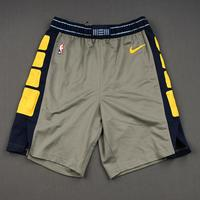 Mike Conley - Memphis Grizzlies - 2019 Taco Bell Skills Challenge - Game-Issued City Edition Shorts