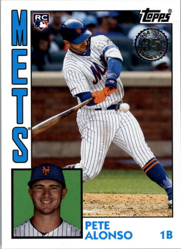 Photo of 2019 Topps Update '84 Topps #8411 Pete Alonso
