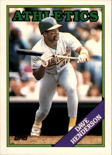 Photo of 1988 Topps Traded #48T Dave Henderson