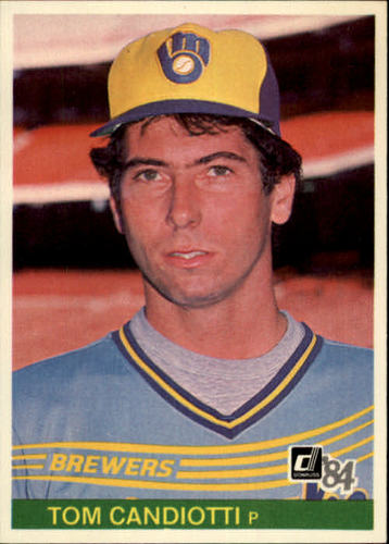 Photo of 1984 Donruss #393 Tom Candiotti RC