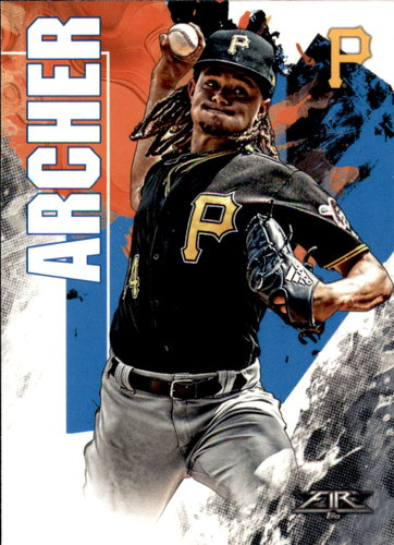 Photo of 2019 Topps Fire #118 Chris Archer