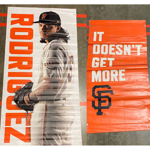 Photo of 2020 Cyber Monday Sale - 2019 Street Banner - #57 Dereck Rodriguez