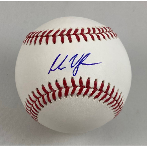 Photo of Andrew Vaughn Autographed Baseball
