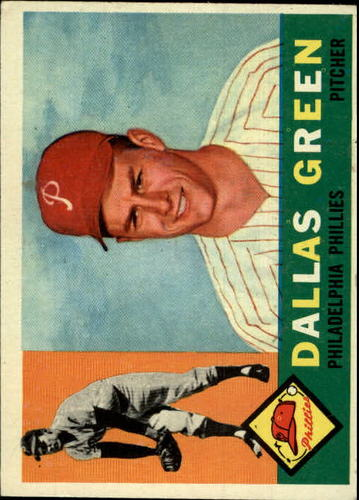 Photo of 1960 Topps #366 Dallas Green RC