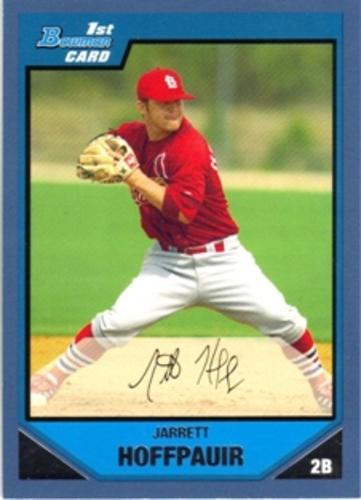 Photo of 2007 Bowman Prospects Blue #BP68 Jarrett Hoffpauir