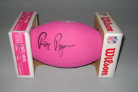 BILLS - REX RYAN SIGNED BCA PINK MINI FOOTBALL