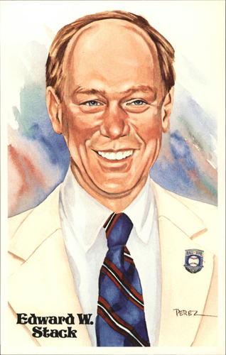 Photo of 1980-02 Perez-Steele Hall of Fame Postcards #D Edward W. Stack -- Set #08689