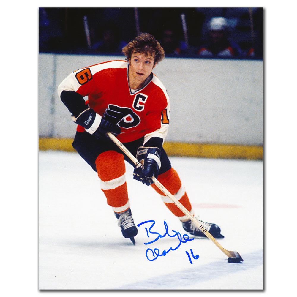 Bobby Clarke Philadelphia Flyers RUSH Autographed 8x10