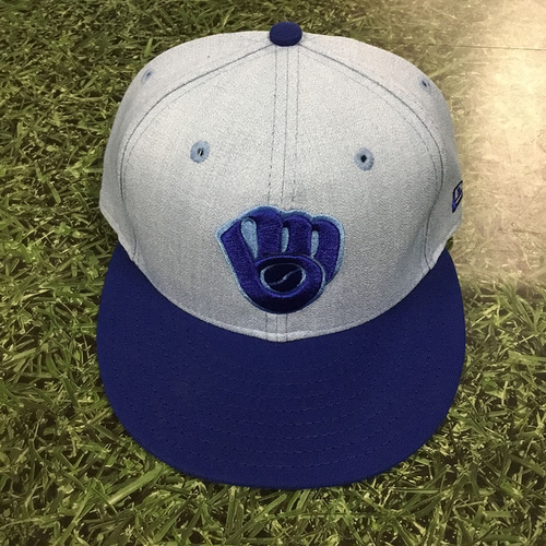 Photo of Lorenzo Cain Game-Used 2018 Father's Day Cap