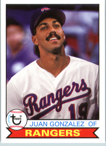 Photo of 2016 Topps Archives #120 Juan Gonzalez