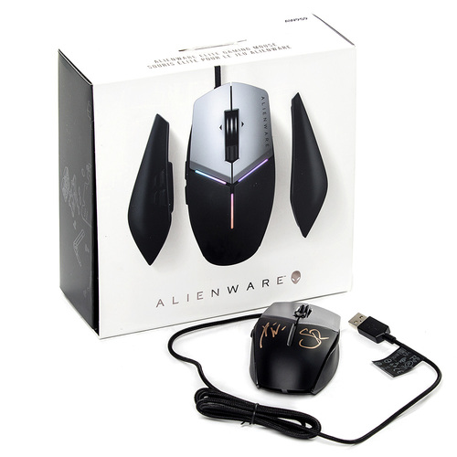 Xavier Woods & Seth Rollins SIGNED Alienware Elite Gaming Mouse AW959