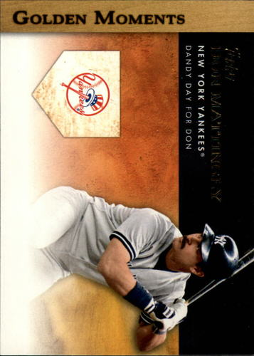 Photo of 2012 Topps Golden Moments Series 2 #GM23 Don Mattingly
