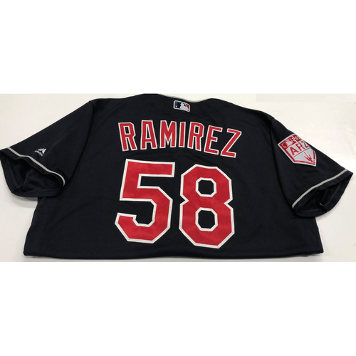 Photo of Neil Ramirez Team Issued 2019 Spring Training Jersey