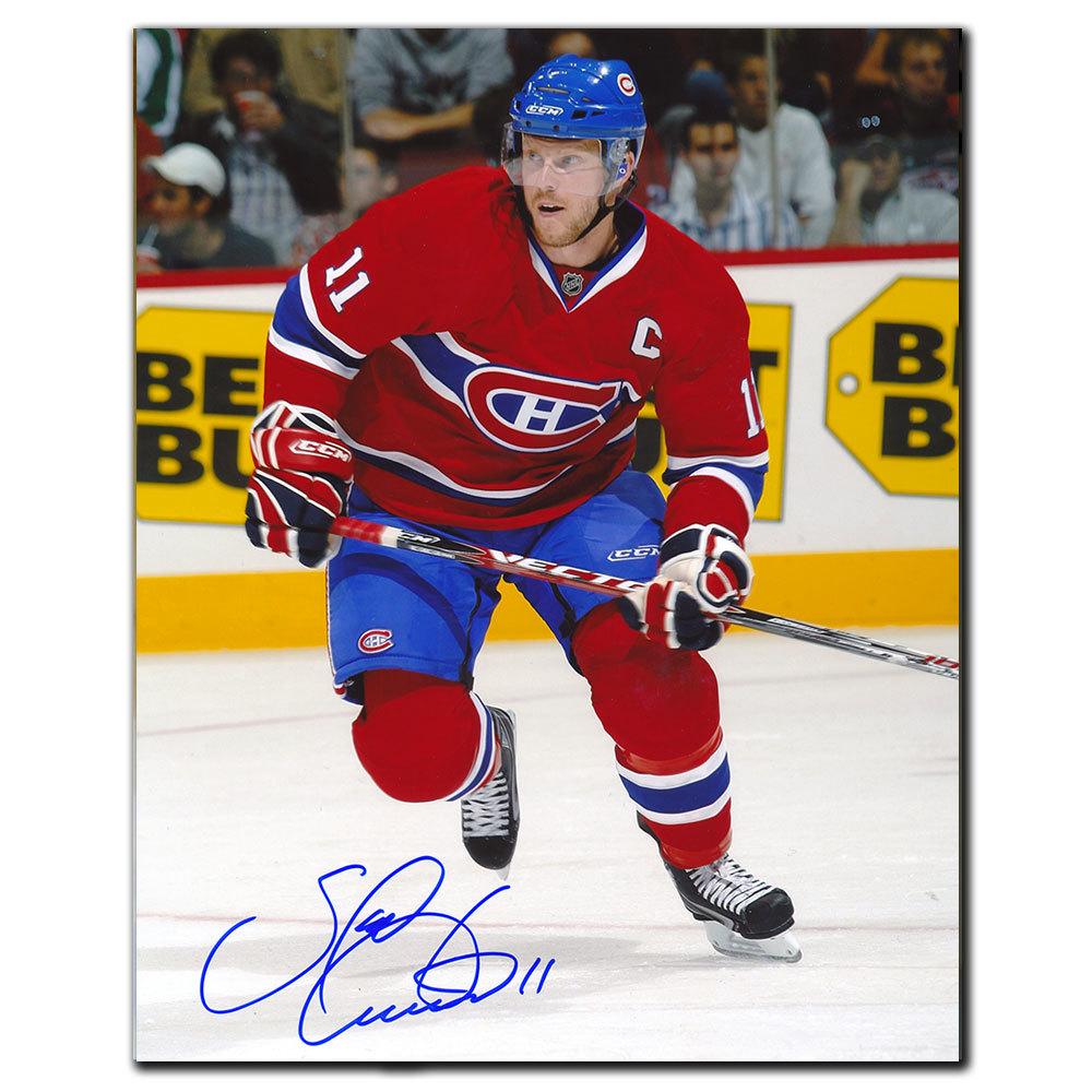 Saku Koivu Montreal Canadiens CAPTAIN Autographed 8x10