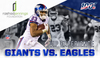 GIANTS VS. EAGLES VIP EXPERIENCE (4 TICKETS + 4 PRE-GAME SIDELINE PASSES + AN AUTOGRAPHED PANEL BALL FROM RASHAD JENNINGS) GAME DATE IS 12/29 - AUCTION BENEFITS THE RASHAD JENNINGS FOUNDATION.
