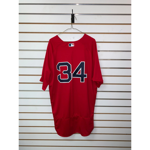 Photo of David Ortiz Team Issued 2016 Home Alternate Jersey