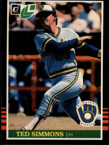 Photo of 1985 Leaf/Donruss #104 Ted Simmons