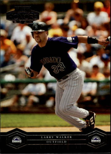 Photo of 2004 Playoff Honors #71 Larry Walker