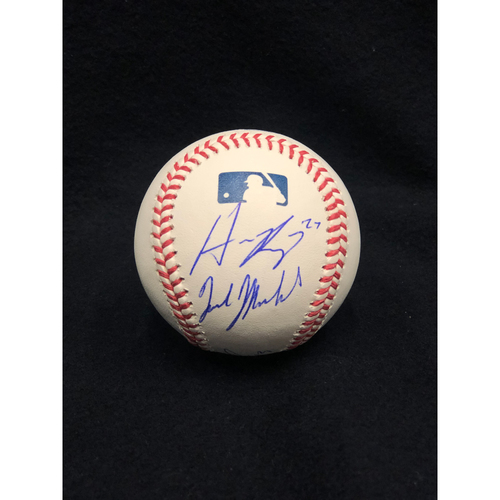 2020 Outfielders Autographed Baseball