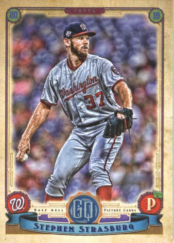 Photo of 2019 Topps Gypsy Queen #211 Stephen Strasburg