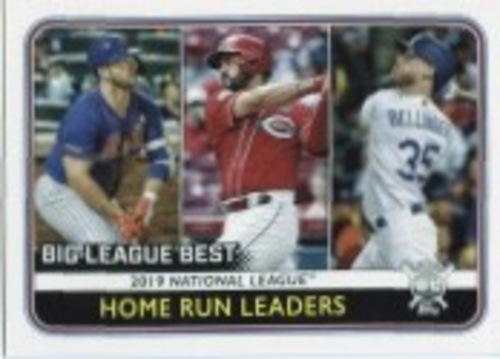 Photo of 2020 Topps Big League #236 Pete Alonso/Cody Bellinger/Eugenio Suarez LL