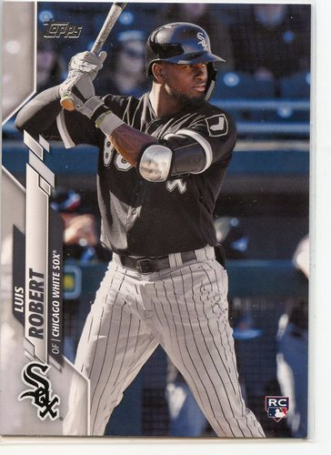 Photo of 2020 Topps #392 Luis Robert RC