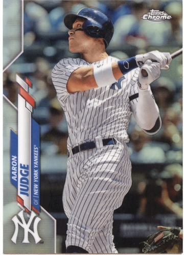 Photo of 2020 Topps Chrome Refractors #50 Aaron Judge