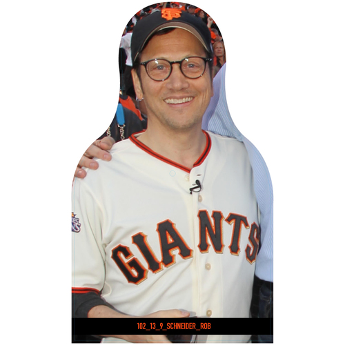 Photo of Giants Community Fund: Giants Rob Schneider Cutout