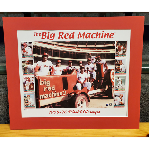 Photo of Big Red Machine Tractor Print