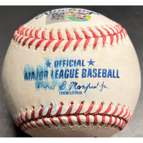Photo of Game-Used Baseball: Kyle Schwarber Chicago Cubs Home Run (MLB AUTHENTICATED)