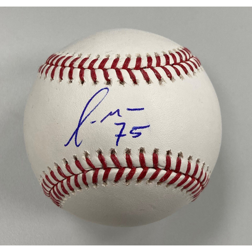 Photo of Yermin Mercedes Autographed Baseball