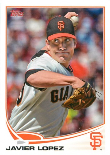 Photo of 2013 Topps #192 Javier Lopez