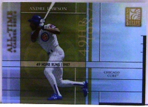Photo of 2003 Donruss Elite All-Time Career Best #25 Andre Dawson