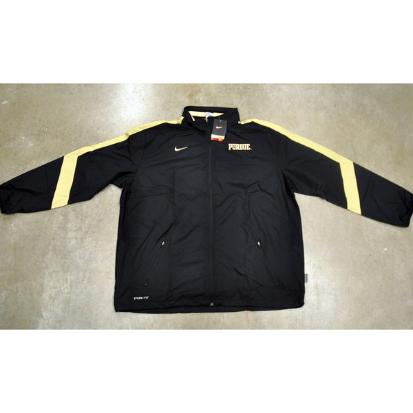 Photo of Black Nike Men's Basketball Team-Issued STORM-FIT Jacket // Size 2XL