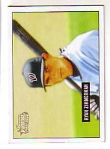 Photo of 2005 Bowman Heritage #340 Ryan Zimmerman Rookie Card