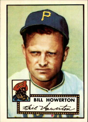 Photo of 1983 Topps 1952 Reprint #167 Bill Howerton