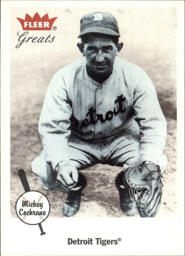 Photo of 2002 Greats of the Game #47 Mickey Cochrane Hall of Fame Class of 1947