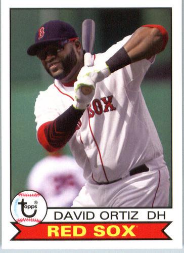 Photo of 2016 Topps Archives #125 David Ortiz